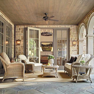 We're thinking of redecorating the west porch. Do you think wicker pairs well with cashmere? #greypoupon