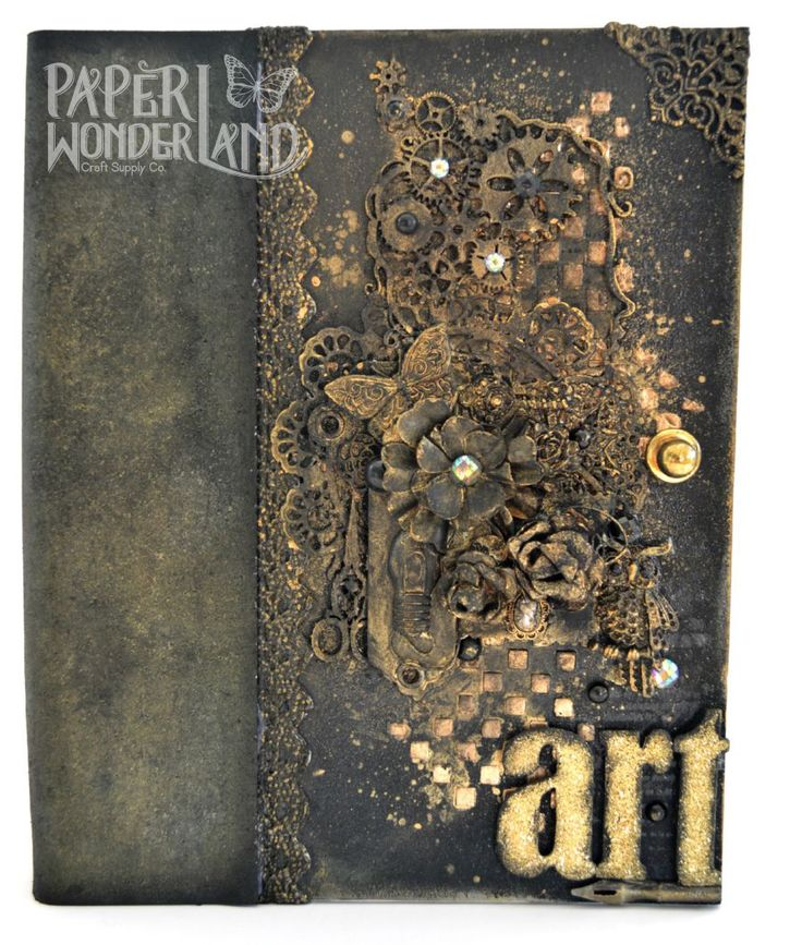 Mixed Media Art Journal Cover
