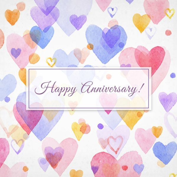 Happy Anniversary!                                                                                                                                                                                 More
