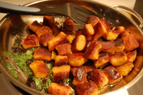 Pan Fried Pumpkin Gnocchi | Happy Cooks | Pinterest
