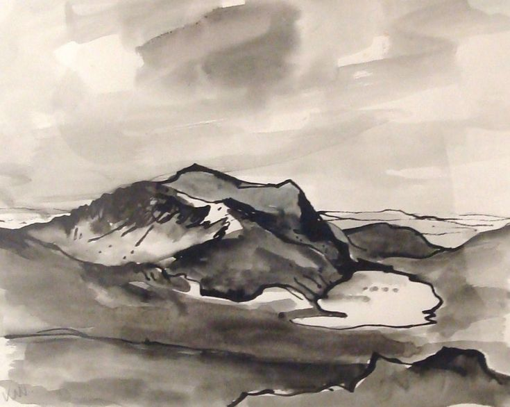 Snowdonia - Sir Kyffin Williams (Kooywood Gallery)