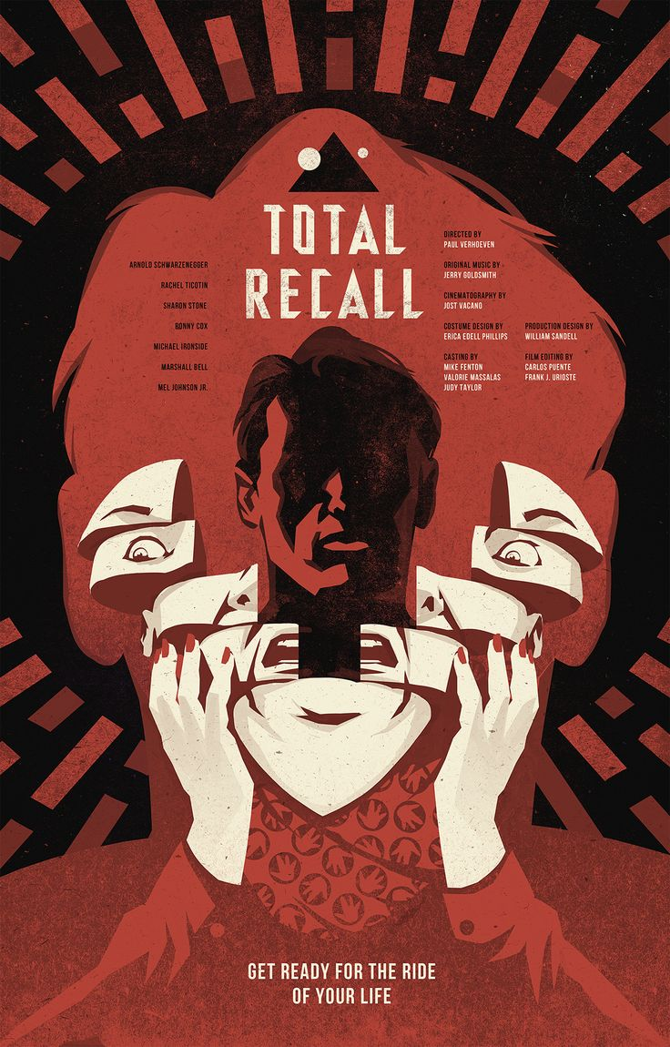 Total Recall (1990) Movie Poster on Behance