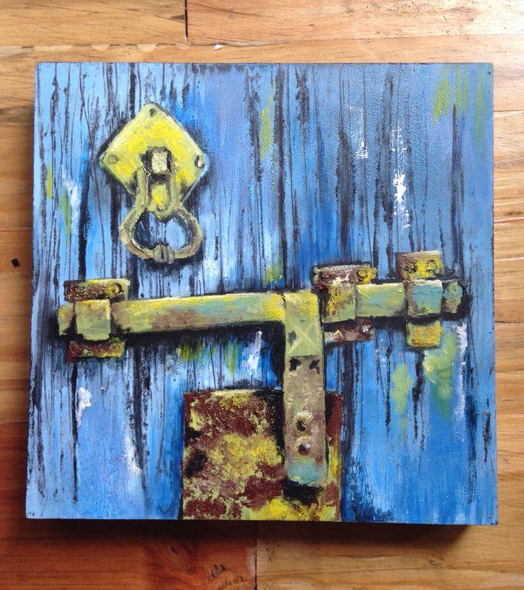 Door Oil on canvas