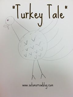 Turkey Tale: A Thanksgiving Draw and Tell
