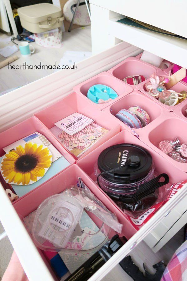 How To Make Drawer Organisers With Stuff From Your Recycling!