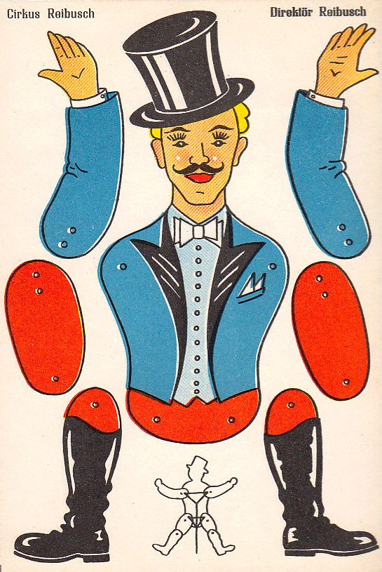 Jumping Jacks, Sweden | Paper Toys, Models, and Crafts ...  Jumping