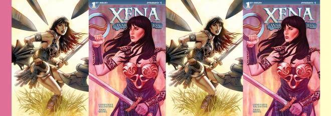 Xena Dynamite comics la serie tv sulla Principessa Guerriera diventa un fumetto