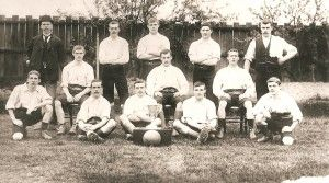 We have just found this image on the Winsford History Society website. Does anyone know the year this photo was taken? What was the trophy? Can you name a Player or Coach? Please get in touch, we would love to hear from you.