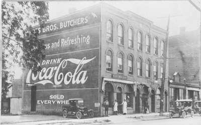 Hewis Block (formerly McMillan's Block), ca.1922 121 Brock St. N.