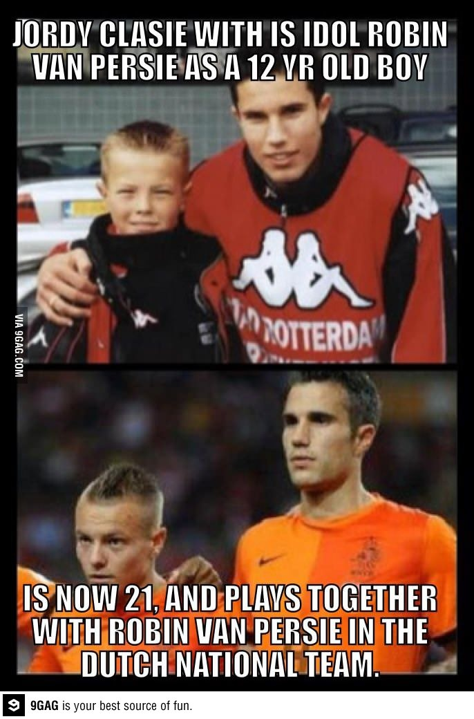 RVP and Jordy Clasie