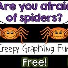 Enjoy this spider graphing freebie to go along with your spider and/or Halloween activities! I have included a graph title and labels (in color and...