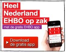 Download nu de EHBO app! Het Rode Kruis heeft een gratis EHBO app. Hartstikke handig, want zo heeft u altijd u EHBO kennis op zak.