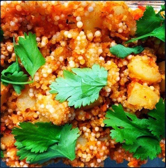 SANS GLUTEN SANS LACTOSE: Sabudana (cuisine indienne) sans gluten et sans lactose