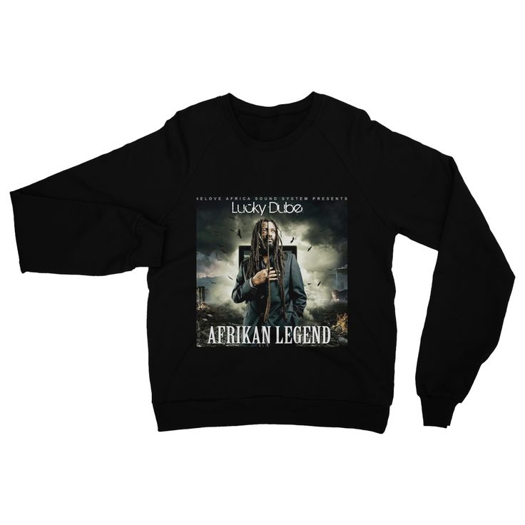 Africans Attire - Tribute to Lucky Dube Heavy Blend Crew Neck Sweatshirt  #New #mobile #hiphop #cool #homeware #pictureofheday #akaworldwide #fashion #decor #rare