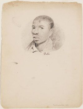 """Came across this.. these are a collection of drawings of some of the people who were held captive on the slave ship """"Amistad"""", ca. 1839-1840"""