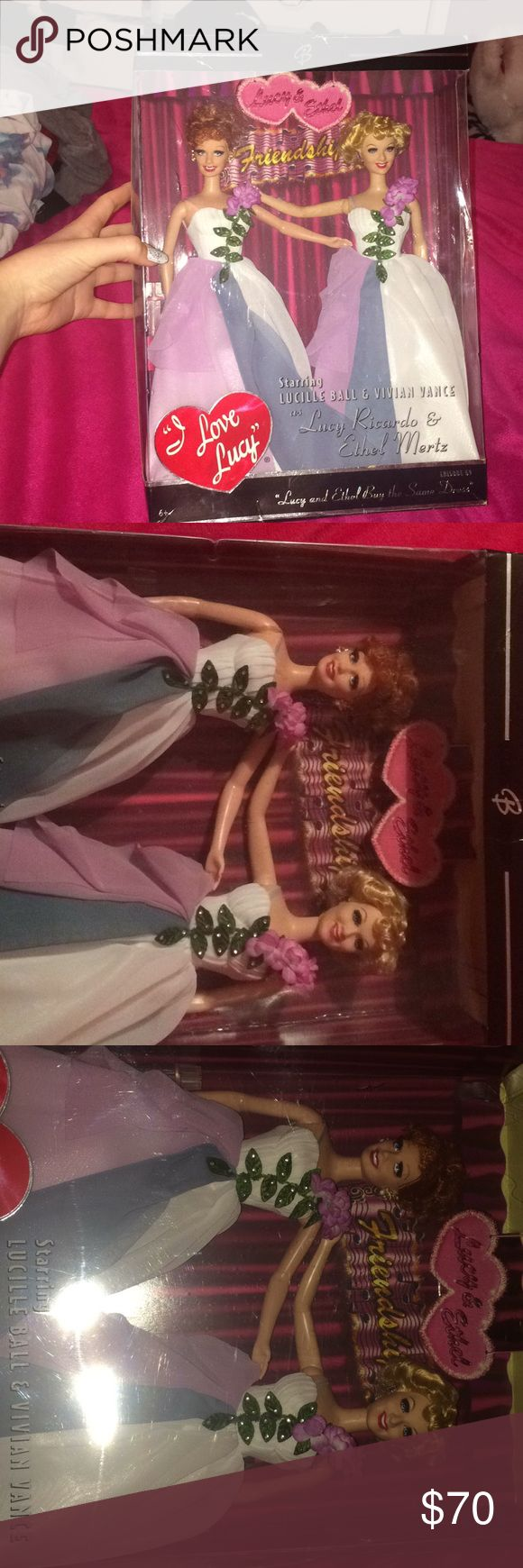 "Lucy and Ethan Barbie dolls from ""I️ love Lucy"" Authentic, never been used or opened, episode #69 originally aired October 19, 1953 Barbie Other"