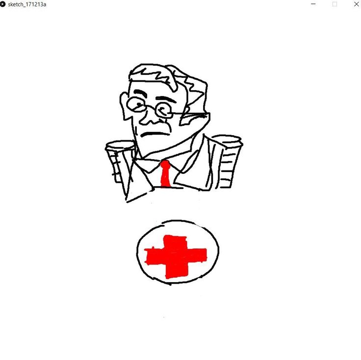 A Medic drawn in a Processing program (code in comments) #games #teamfortress2 #steam #tf2 #SteamNewRelease #gaming #Valve