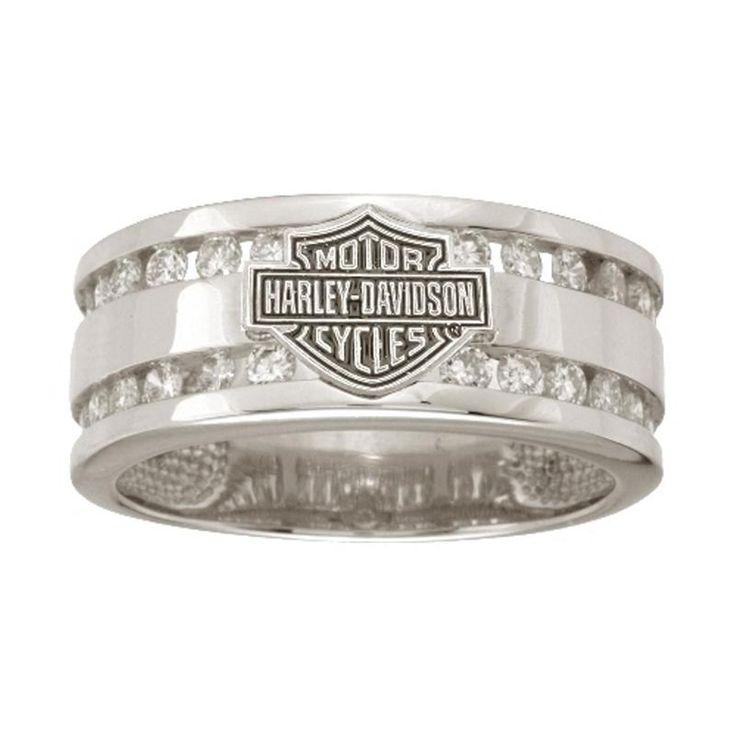 Harley DavidsonR Mens Wedding Ring WRG475D