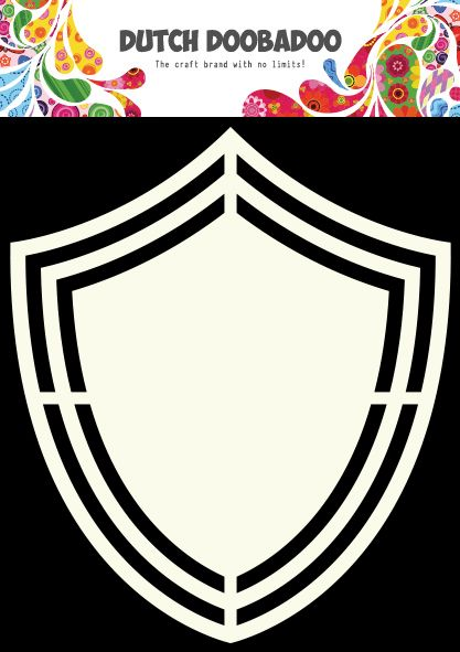 470.713.119 Dutch Doobadoo Shape Art Schild
