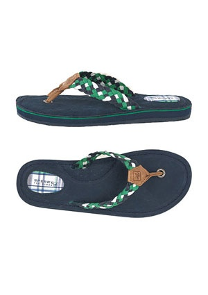 nautical flip flops!