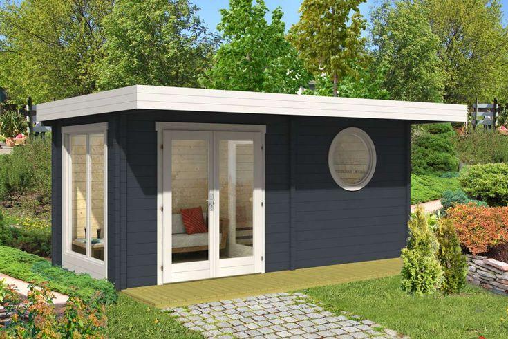 Saunahaus Enns70 Sauna Gartensauna, Gartenhaus, Sauna