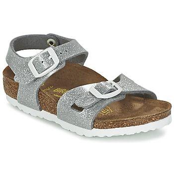 Sandales+et+Nu-pieds+Birkenstock+RIO+Argent+58.99+€