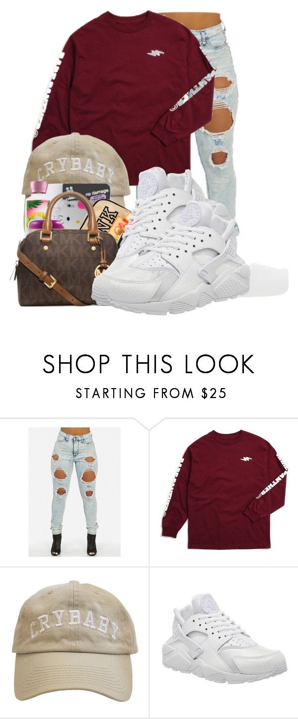 """""""."""" by ray-royals ❤ liked on Polyvore featuring NIKE"""