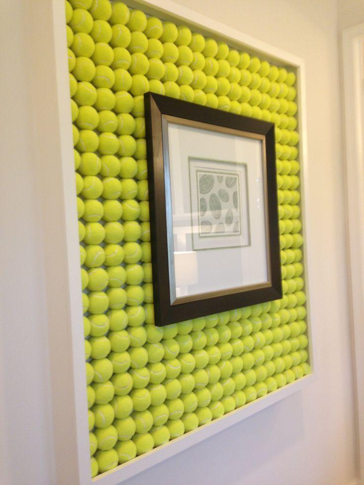 Déco avec les vieilles balles de tennis! 17 idées pour vous inspirer…