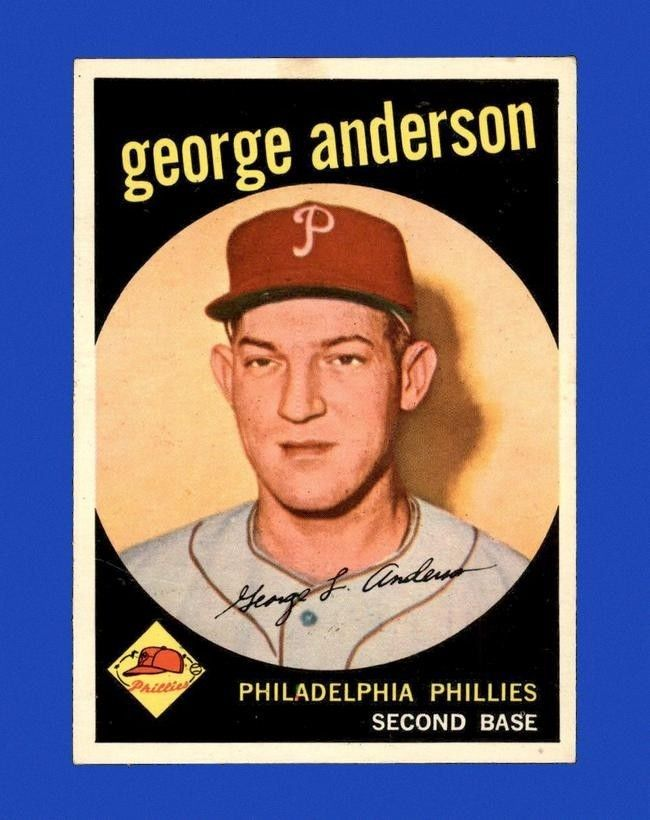 1959 Topps Set Break #338 - Sparky Anderson RC NR-MINT M15888