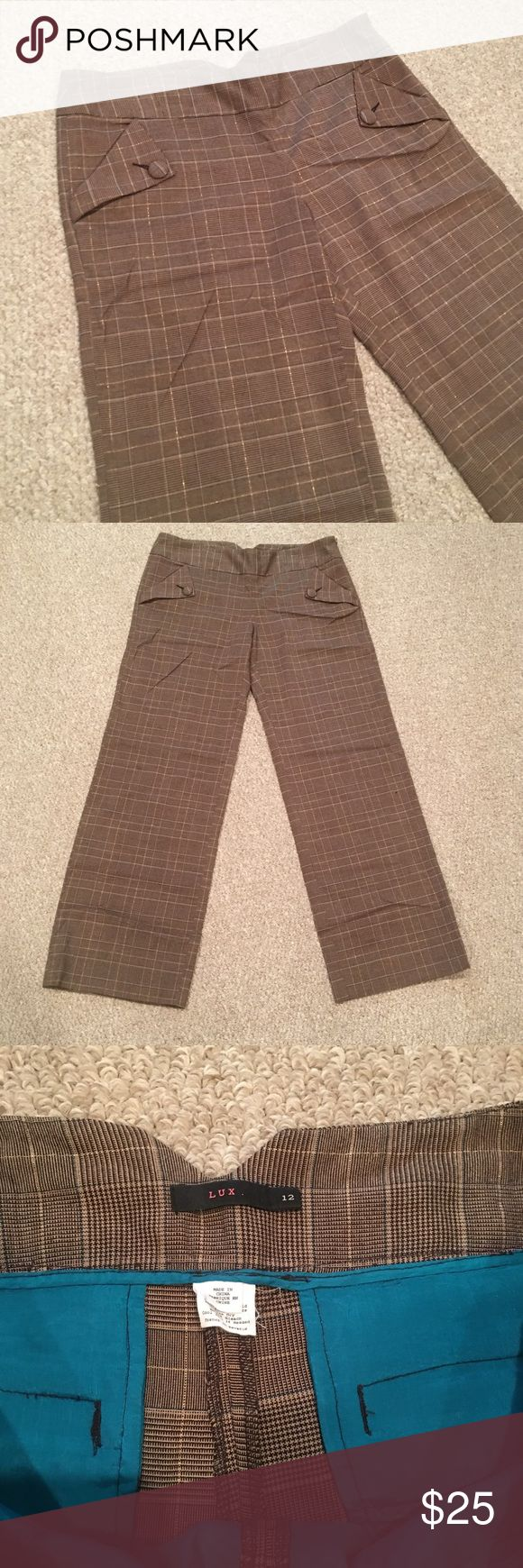 LUX Brand (Urban Outfitters) Wide Leg Trousers Awesome Wide Leg Trousers from Urban Outfitters size 12. Urban Outfitters Pants Trousers