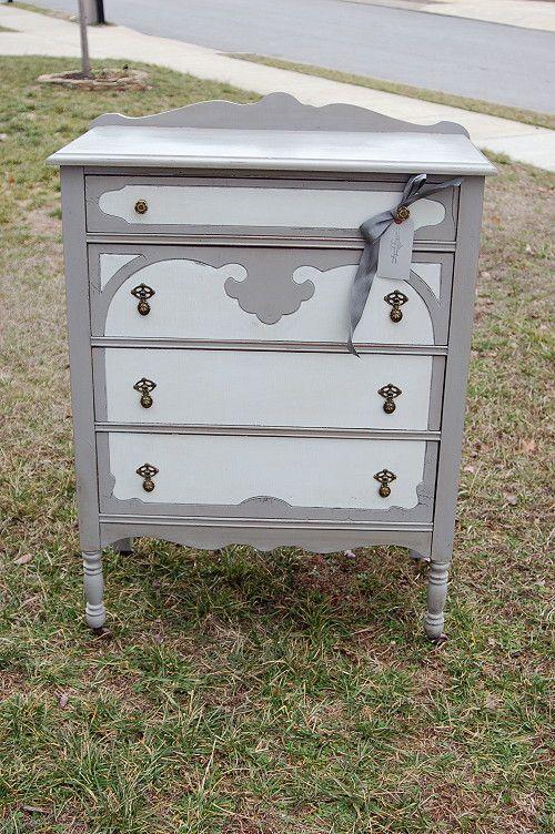 repainted vintage furniture