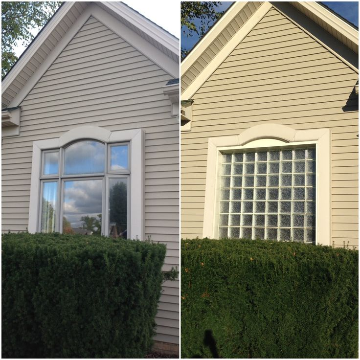 Replace Glass Block Window Trend Home Design Trend - Cost to replace bathroom window