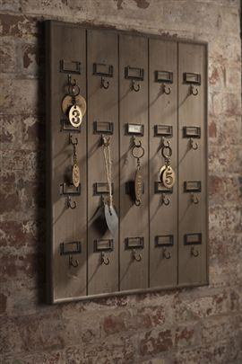 Hotel Key Rack by Vagabond Vintage gr8 forventrance