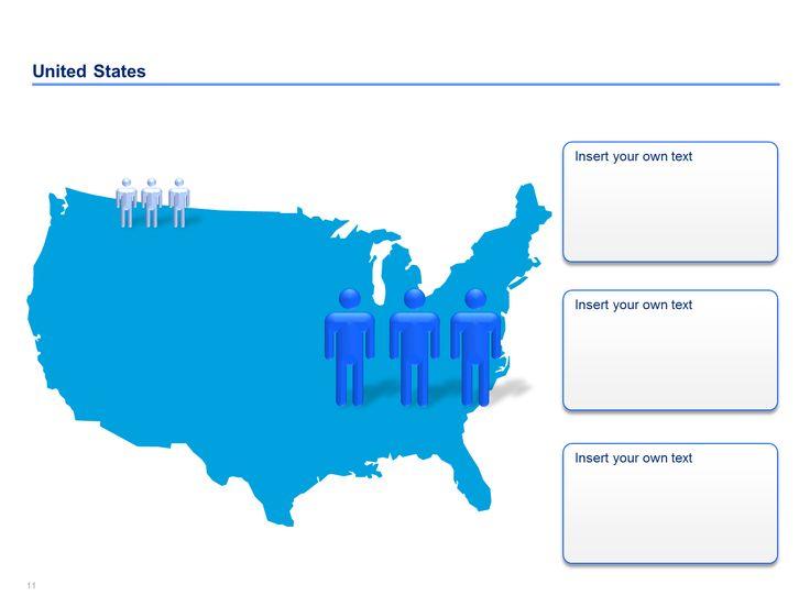 15 best Editable US Maps in Powerpoint Slidebookscom images on