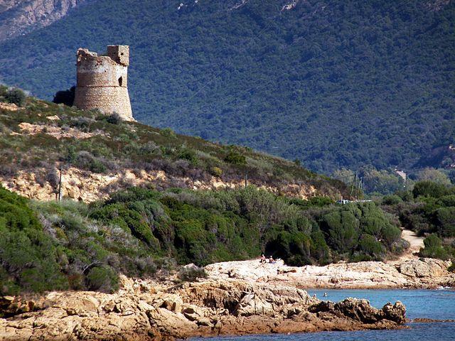 Région de Sevi in Dentru  - - Vico - Tour de Sagone - Vico est une commune située dans le département de la Corse-du-Sud. Chef-lieu des Deux-Sorru et anciennement ville sous-préfecture de Corse-du-Sud, Vico demeure la cité tutélaire de la façade occidentale de l'île s'étendant entre Calvi et Ajaccio, de Girolata à Calcatoggio.