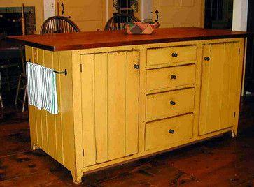 Primitive Kitchen Islands 627 best primitive/colonial kitchens images on pinterest