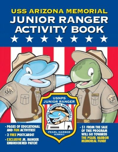 USS Arizona Memorial, Pearl Habor - Junior Ranger
