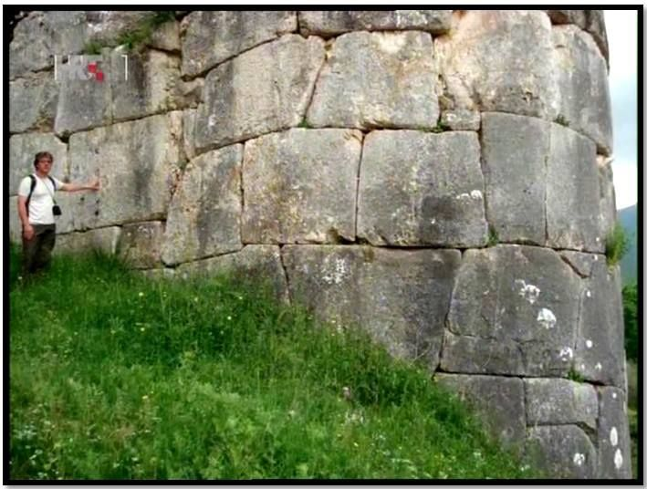 The Megalithic stones at Norba in Italy...see Brien Foerster on Facebook