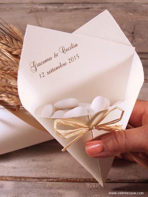 [MATRIMONIO FAI DA TE] Tutorial Coni portariso/confetti Ducale - progetto #8