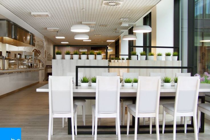 Restauracja w biurowcu AIG Lincoln, fot. Base Architekci