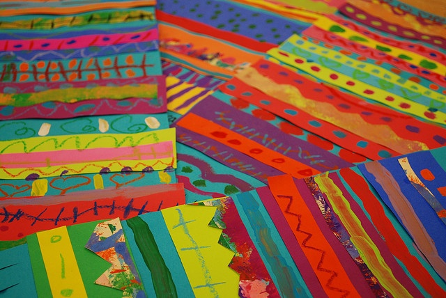 Mexican Blankets from Painted Paper