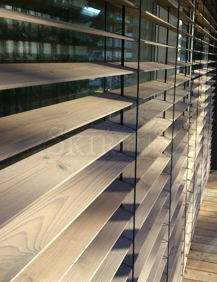 SKIRPUS external outdoor facade wooden blinds 20
