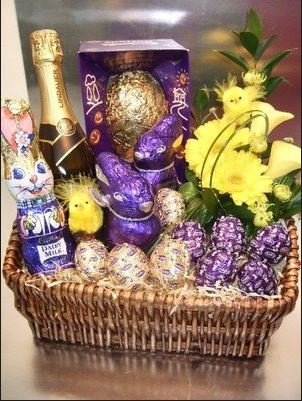Hop over to www.bin36.com to grab your #wine. Here are some great ideas for an #easter gift #basket for an adult.