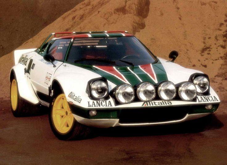 """La #Lancia #Stratos è stata definita tra le altre  """"la più bella auto da rally di sempre"""", voi cosa ne pensate?"""