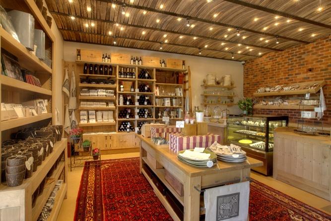 Custom shop fitting and furniture by Pierre Cronje in the La Motte Farm Shop / Plaaswinkel