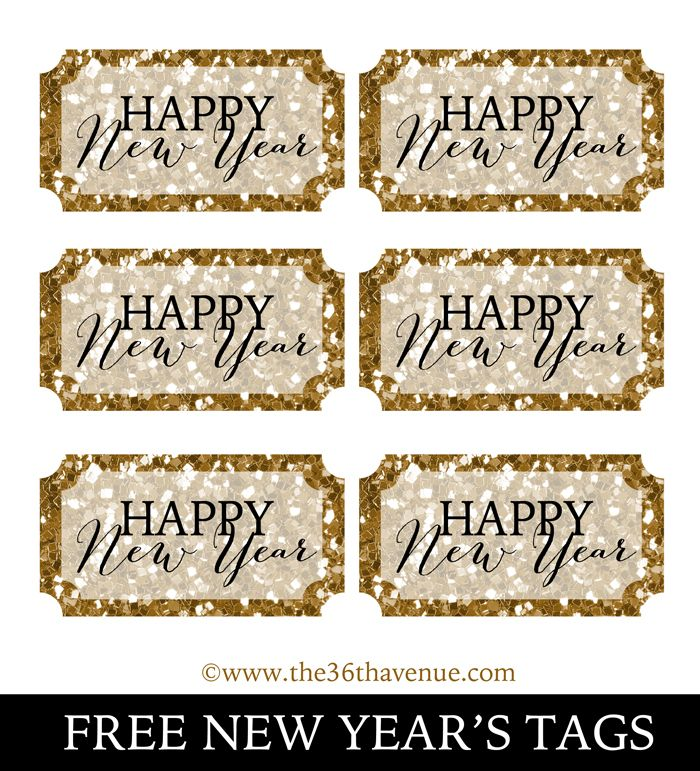photo about Printable New Years Cards named No cost Printable Fresh new Yr Playing cards] Joyful Fresh new 12 months Thank Yourself Card