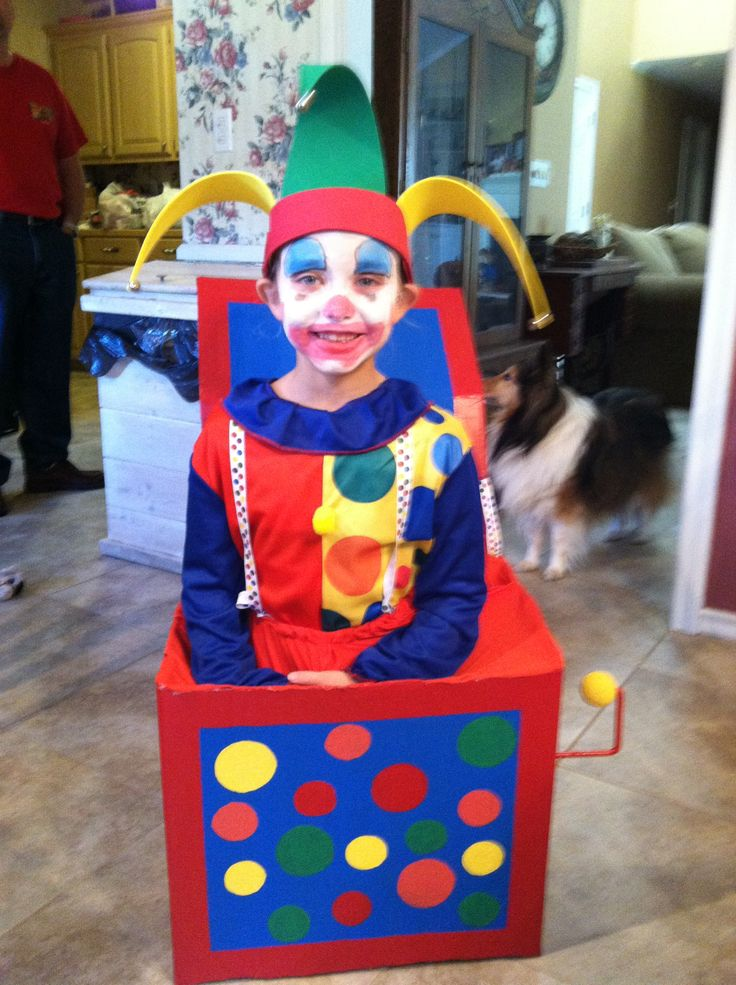 jack in the box costume - Halloween Box Costumes