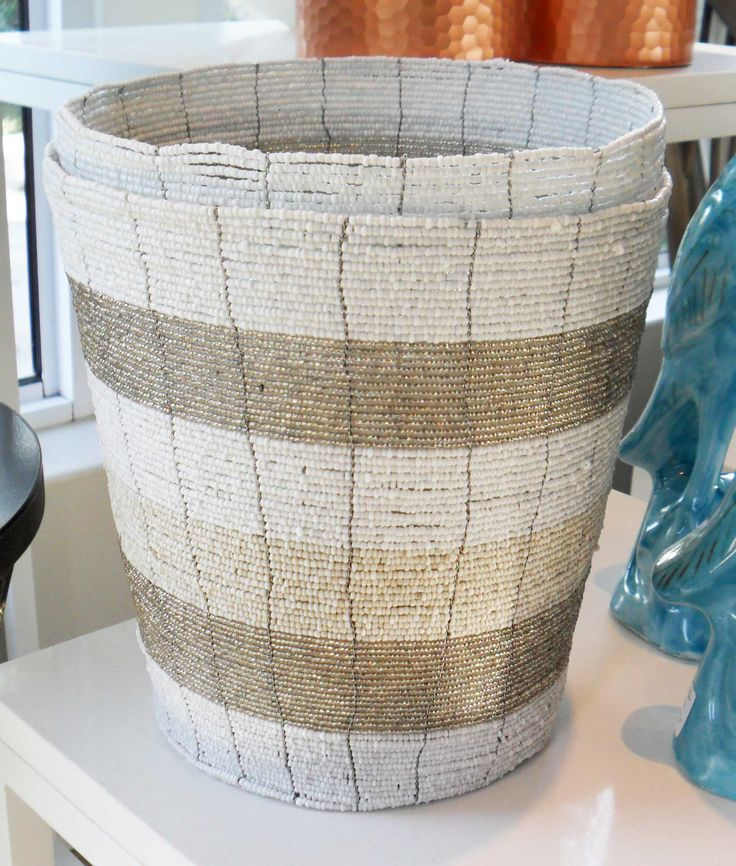 Beaded Vase - Inside Out Home Boutique