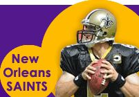 Get your New Orleans Saints tickets for home  and away games plus book your lodging!