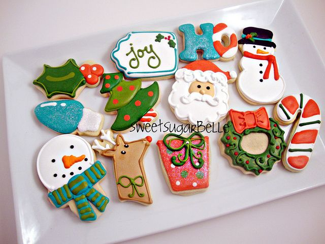 Christmas Cookies by SweetSugarBelle, via Flickr
